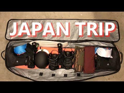 Japan Snowboarding Trip Travel Vlog
