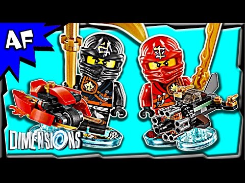 Vidéo LEGO Dimensions 71207 : Pack Equipe : Ninjago