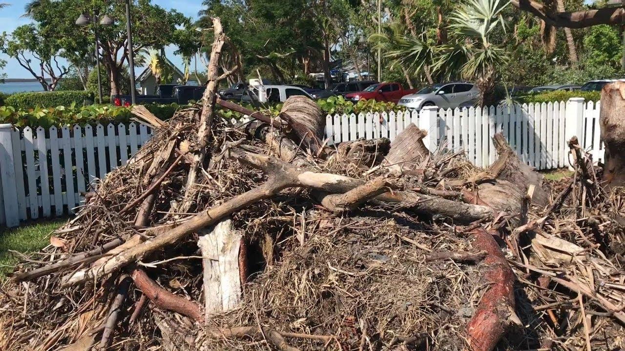 Isla Morada intenta recuperarse ante los estragos de la naturaleza