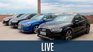 Conheça a família completa do Audi A3, até o RS3!