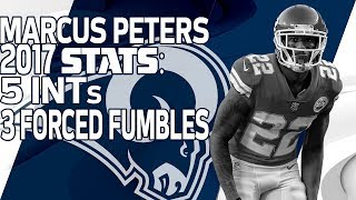New Rams CB Marcus Peters' 2017 Highlights | 🚨 Trade Alert 🚨 | NFL