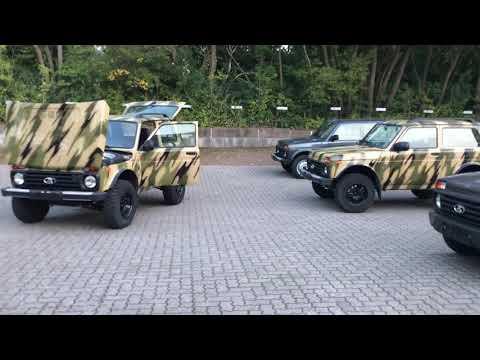 video Lada Niva 4x4 Bronto Freestyle KLIMA eFH SFORT LAGER