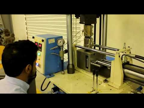 Semi Auto Vertical Plunger Type Injection Direct Ram Machine