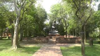 preview picture of video 'Ayutthaya Buddha Image, Siam Cultural Park, Ratchaburi'