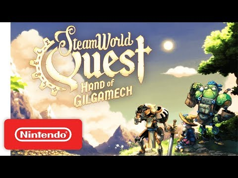 SteamWorld Quest - Announcement Trailer - Nintendo Switch thumbnail