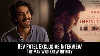 Dev Patel Exclusive Interview - The Man Who Knew Infinity