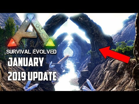 You WILL NOT BELIEVE THIS NEXT ARK UPDATE.... January 2019! - FINALLY!