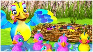 Cartoon for Kids | Easter Eggs & Ducklings | Happy Easter
