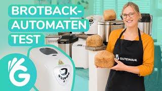 Brotbackautomaten Test – Unold, Panasonic und Co.