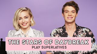 Netflix's Daybreak Cast Reveals Who's Most Likely to Send a Risky Text and More | Superlatives