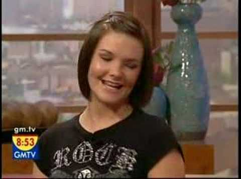 Vicky Interview on GMTV - 8th October 2007