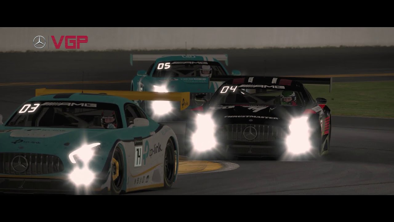 Virtual GP: Mercedes-Benz Series in beautiful slow-motion