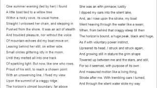 Extract from The Prelude by Wordsworth