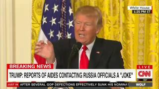 Wolf Trump on contacts with Russia