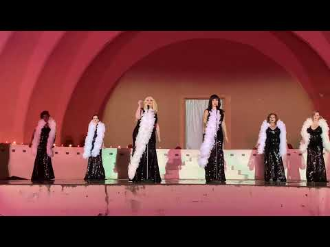 """This is Katie Star's singing troupe """"The Starlite Girls"""" performing at Fair Park in Dallas, Tx."""
