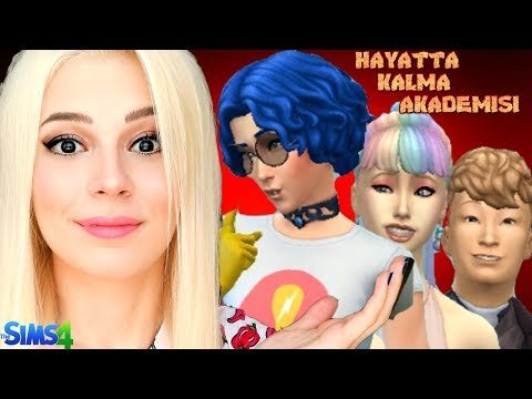 HAYATTA KALMA AKADEMİSİ - ATEŞLE OYNAMA (The Sims 4)