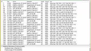 Determining ARP Refresh Rate With Wireshark