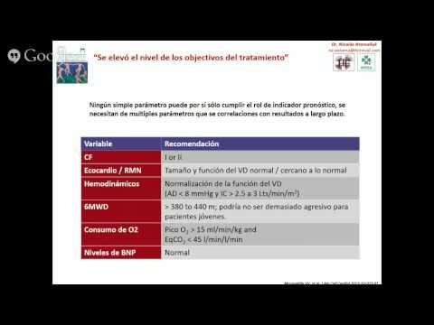 Recomendaciones de tratamiento hipertensión