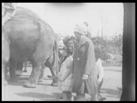 Bezoek aan de dierentuin, ca 1930