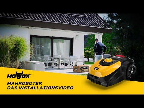 Mowox® Mähroboter - das Installationsvideo