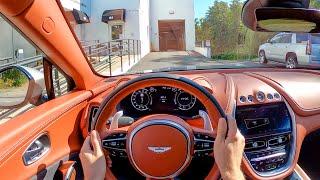 [WR Magazine] 2021 Aston Martin DBX - POV Test Drive by Tedward (Binaural Audio)