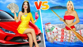 RICH VS POOR GIRL || Funny And Awkward Moments by RATATA!