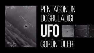 Pentagon'un doğruladığı UFO görüntüleri