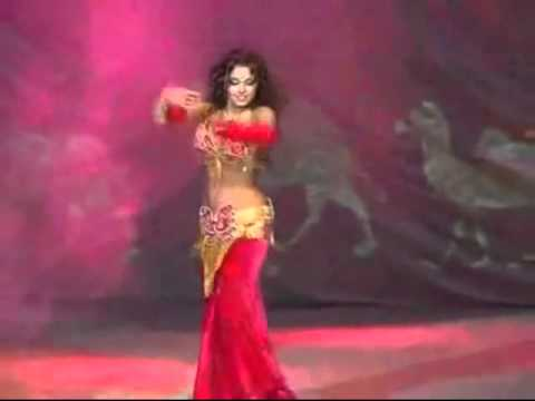 Santana ~ Black Magic Woman with sensational belly dancer