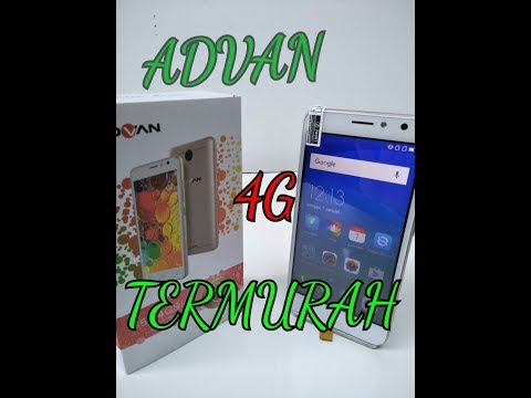 Hp 4G TERMURAH Advan S5E 4GS #UNBOXING 5