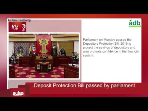 Pulse Business Wrap: Deposit Protection Bill passed by parliament