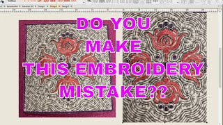 The Embroidery Mistake That Everyone Makes And FREE EMBROIDERY DESIGN!