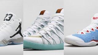Jordan NBA Opening Night Kicks, KD 7 Lifestyle White Ostrich, Diadora N9000 on Today in Sneaks
