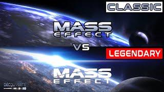 Mass Effect 1 Legendary edition vs Mass Effect 1 Classic