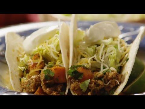 How to Make Turkey and Yam Spicy Tacos | Turkey Recipes | Allrecipes.com