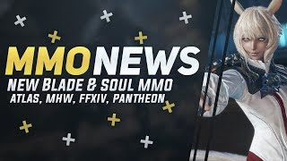 "MMORPG News: New Blade & Soul: Revolution, Upcoming ""Atlas"" MMO, Crowfall, Pantheon Alpha"