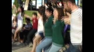 """Флешмоб """"""""Танцует Ереван"""", посвященный армянским национальным танцам."""