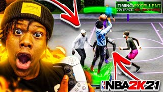 These Jumpshots Make Life EASIER On NBA2K21! 100% CONSISTENT GREENS! NBA 2K21