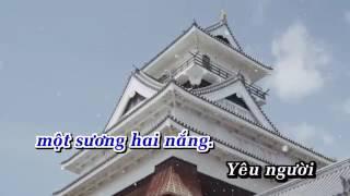 Karaoke Yêu Em Câu Hò   Chế Thanh