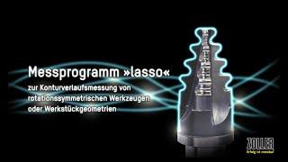 ZOLLER-Werkzeug-Messprogramm »lasso« zur Konturverlaufsmessung