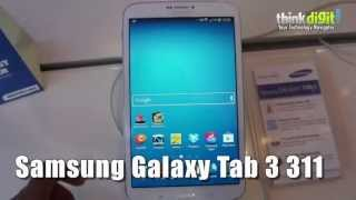 Samsung Galaxy Tab 3 311 - Hands On Video