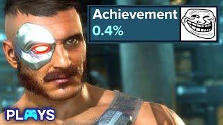 10 Hardest Achievements & Trophies Everyone Unlocks by Cheating   MojoPlays