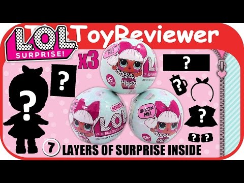 LOL Little Outrageous Littles Surprise Baby Dolls Blind Bag Unboxing Toy Review by TheToyReviewer