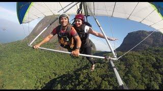 Asa Delta Rio De Janeiro / Hang Gliding Rio De Janeiro Brazil  Tel (55)(21) 9 9995-1818
