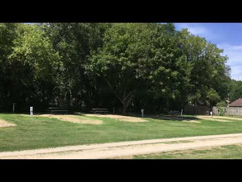video of the park, with the campground behind me as it was taken.