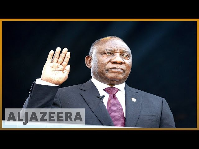 South Africa: Ramaphosa sworn in vowing a 'new era'