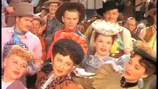 Western+Music: The Harvey Girls 2)Judy Garland /Atchison, Topeka and the Santa Fe (Lyrics)