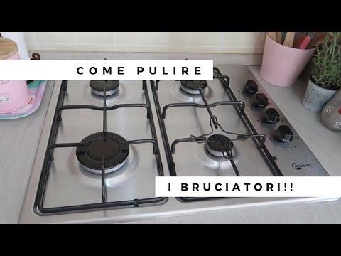 COME PULIRE I BRUCIATORI DEI FORNELLI!
