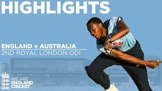 England v Australia - Highlights | England Complete Remarkable Comeback! | 2nd Royal London ODI 2020