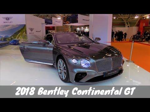 2018 Bentley Continental GT Italian Preview by Bentley Milano  Motor Show 2017