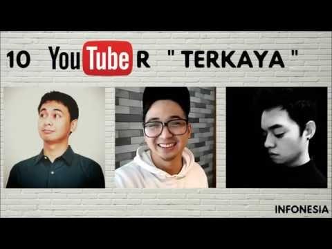 WOW ! Inilah 10 Youtuber Indonesia dengan Penghasilan ADSENSE TERBESAR (JUNI 2016)